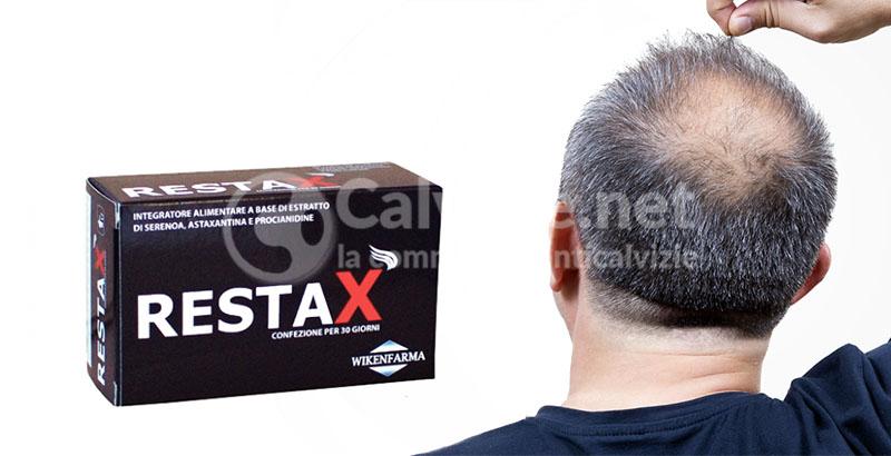 Restax l integratore alimentare per prostata e capelli a base di ... 356a00420f25